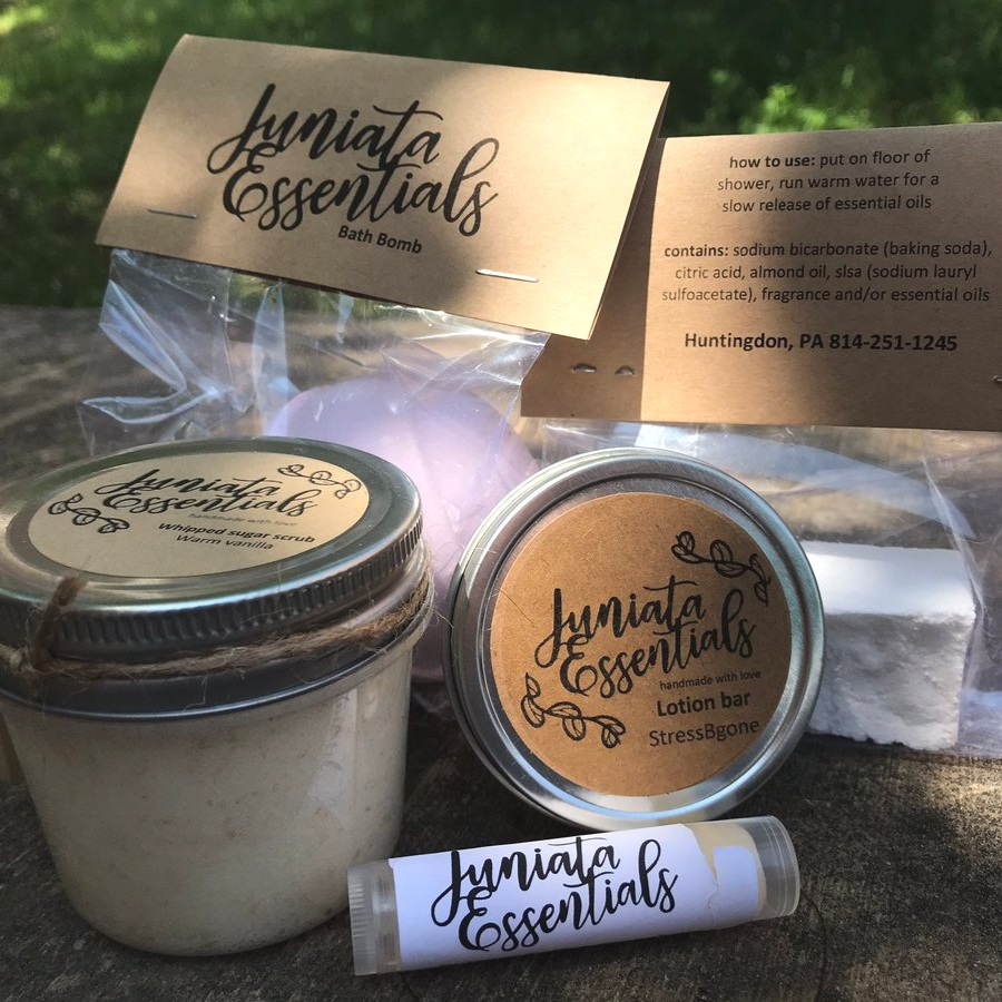 Juniata Essentials Packaging Design
