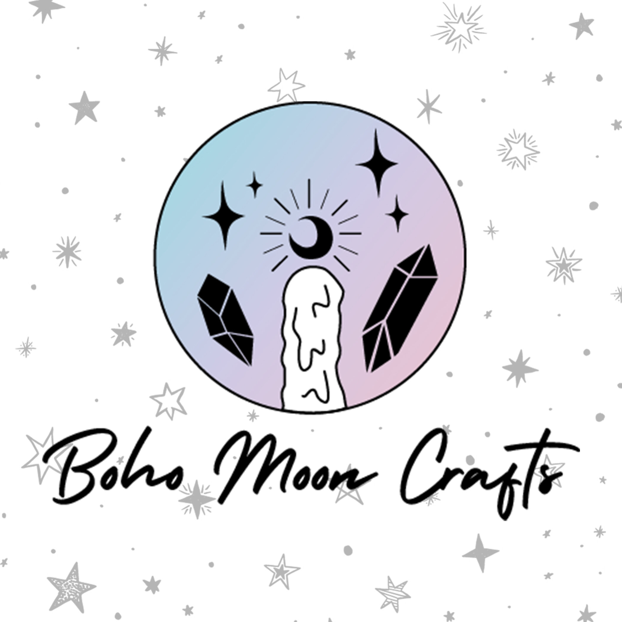 Boho Moon Crafts Brand Development