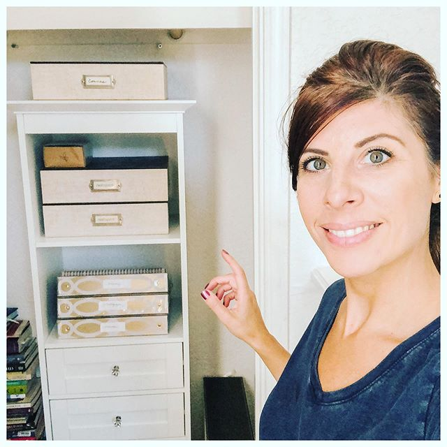 One of the most exciting things to me is when I revive a space on a minimum investment!  I created a new revived office closet for me this week with: - neat draws filled with supplies like pens, labels, gift, blank, note cards, wrap items.  What was in the closet originally has now moved to a different space in the house! I think I redo a space on a regular basis especially when it comes to seeing the effect it has on my life as a whole! Organizing, reviving a space for me = enjoying the moment as I live in my space, taking better time to enjoy spending time in it being more present, more efficient progress through ordinary tasks, feeling good about myself, and learning new ways to do things efficiently, being better in my career and owning the process, stepping into my higher self and enjoying/appreciating life. I'm loving my favorite find (this white shelving system) today at my favorite store @homegoods  #whatsgoodforyoursoul #higherself #mindfullness #wellbeing #futureself #mindfulnessblogger #entrepreneur #apartmenttherapy #lifestyle