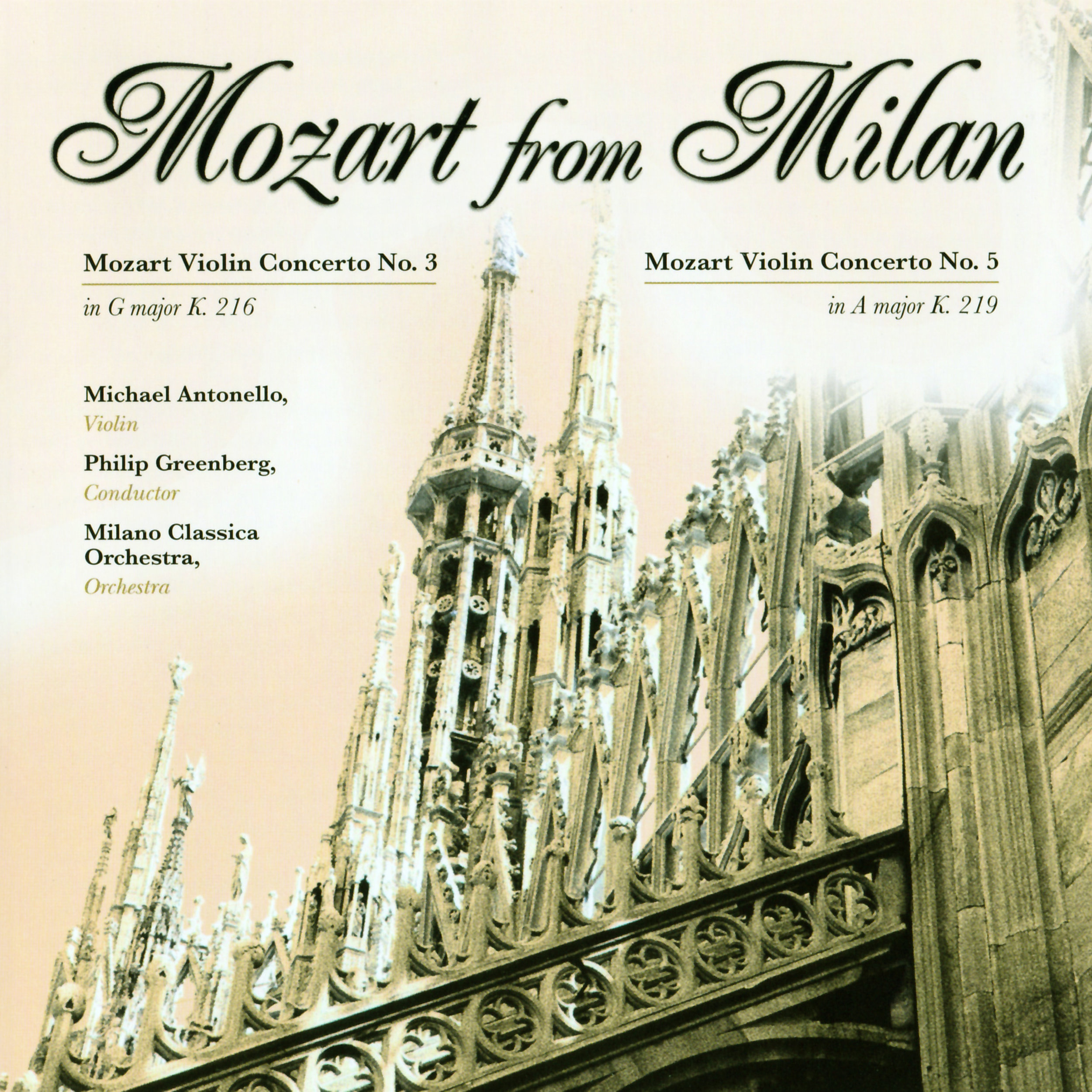 Read the program notes of all 18 CDs of Michael Antonello