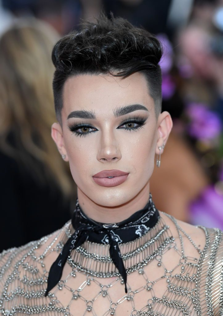 James Charles attends the Metropolitan Museum of Art gala. The YouTube star has the record for the most subscribers lost in 24 hours.