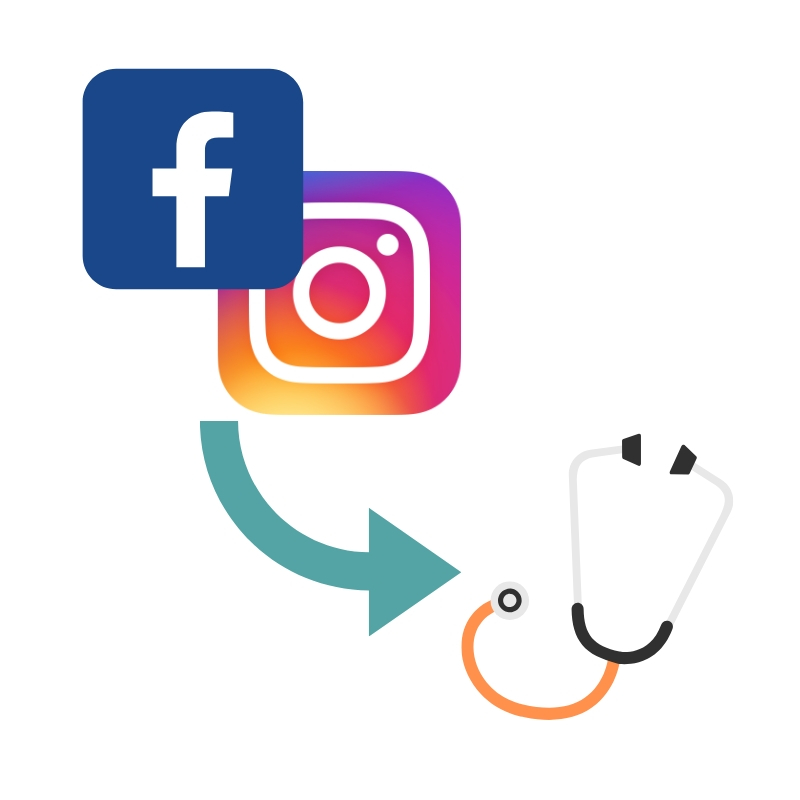 Facebook and Instagram Ads for medical practices. - → Reach new patients where they spend the majority of their free time.→ Leverage local targeting and our engaging social media ad strategy that makes booking appointments quick and easy.