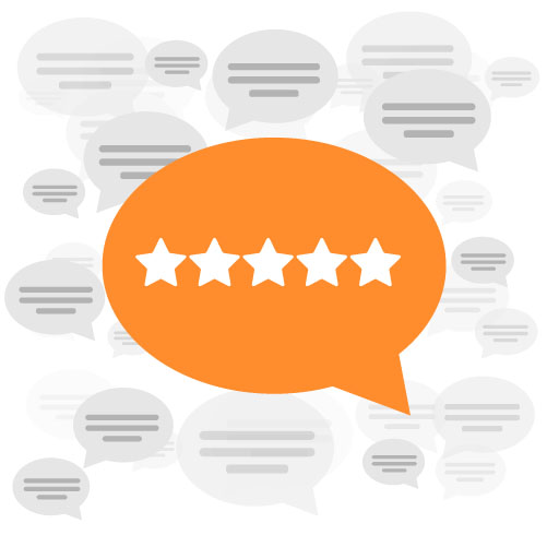 Generate more reviews. - Text review links to select patients after their appointment and increase reviews on your Google.