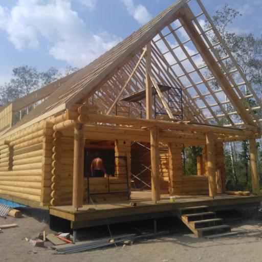 Log cabin package. Selling & building…