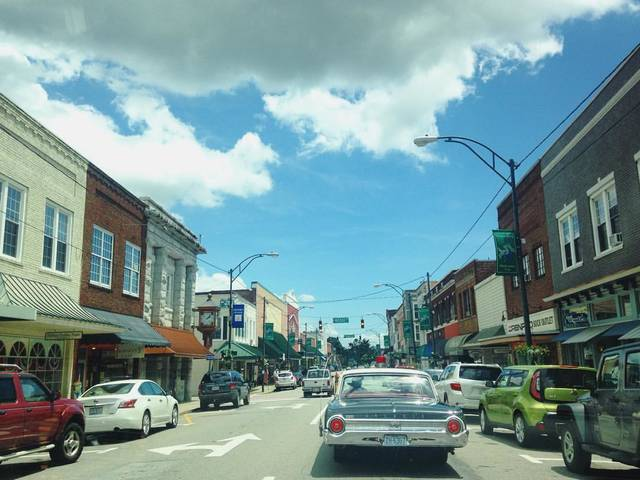 Downtown Mount Airy - Check out Mayberry and all that it has to offer.