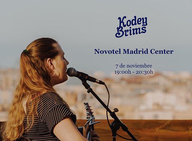 ✨Novotel Madrid Center tonight at 7pm! ✨ @perespinous @artsclap