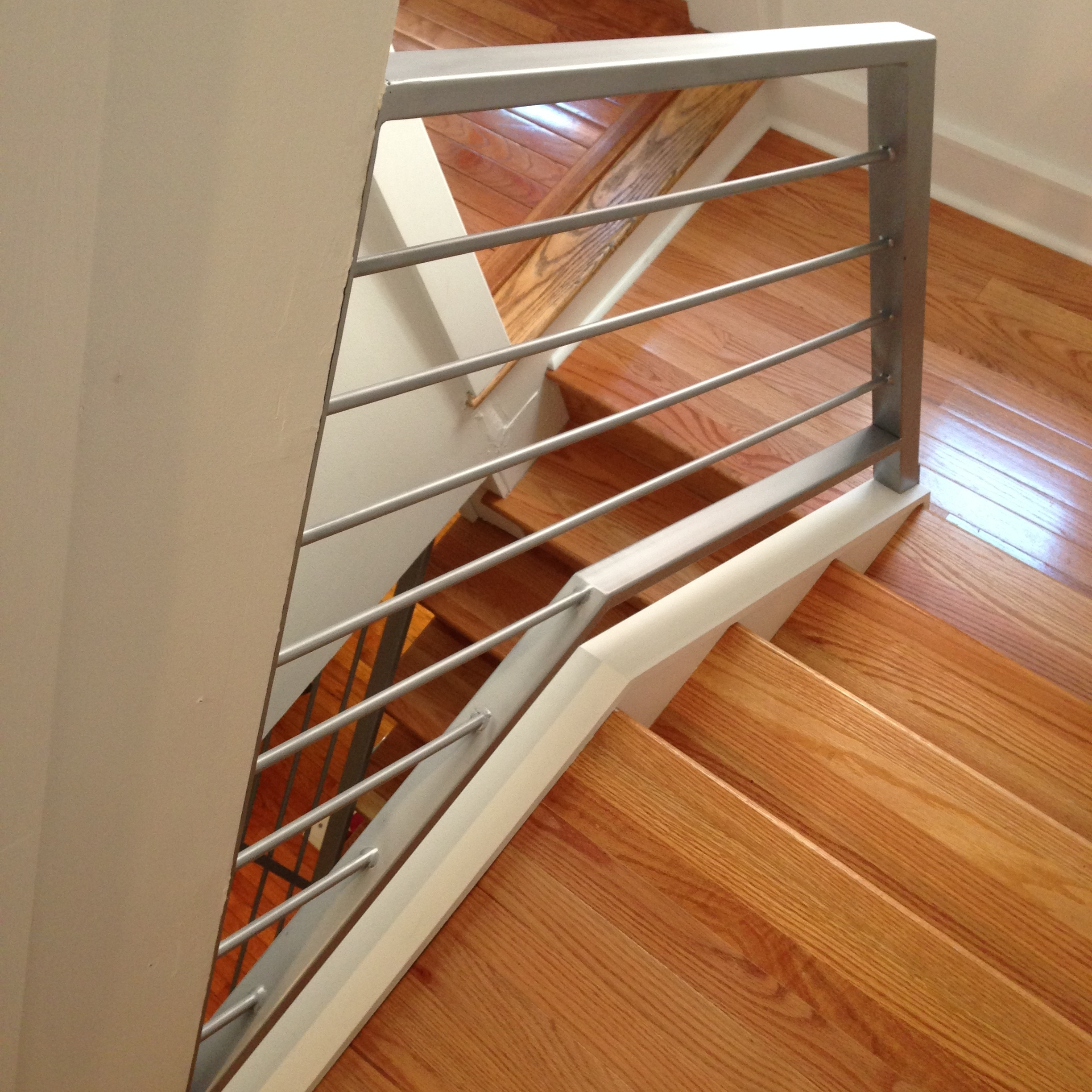 IRON RAILING - private residence, Philadelphia PA