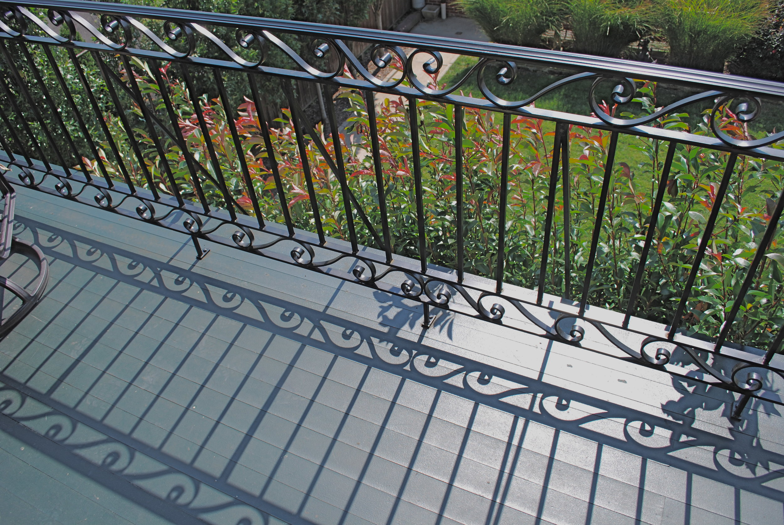DECK RAIL - private residence, Baring St. Philadelphia, PA