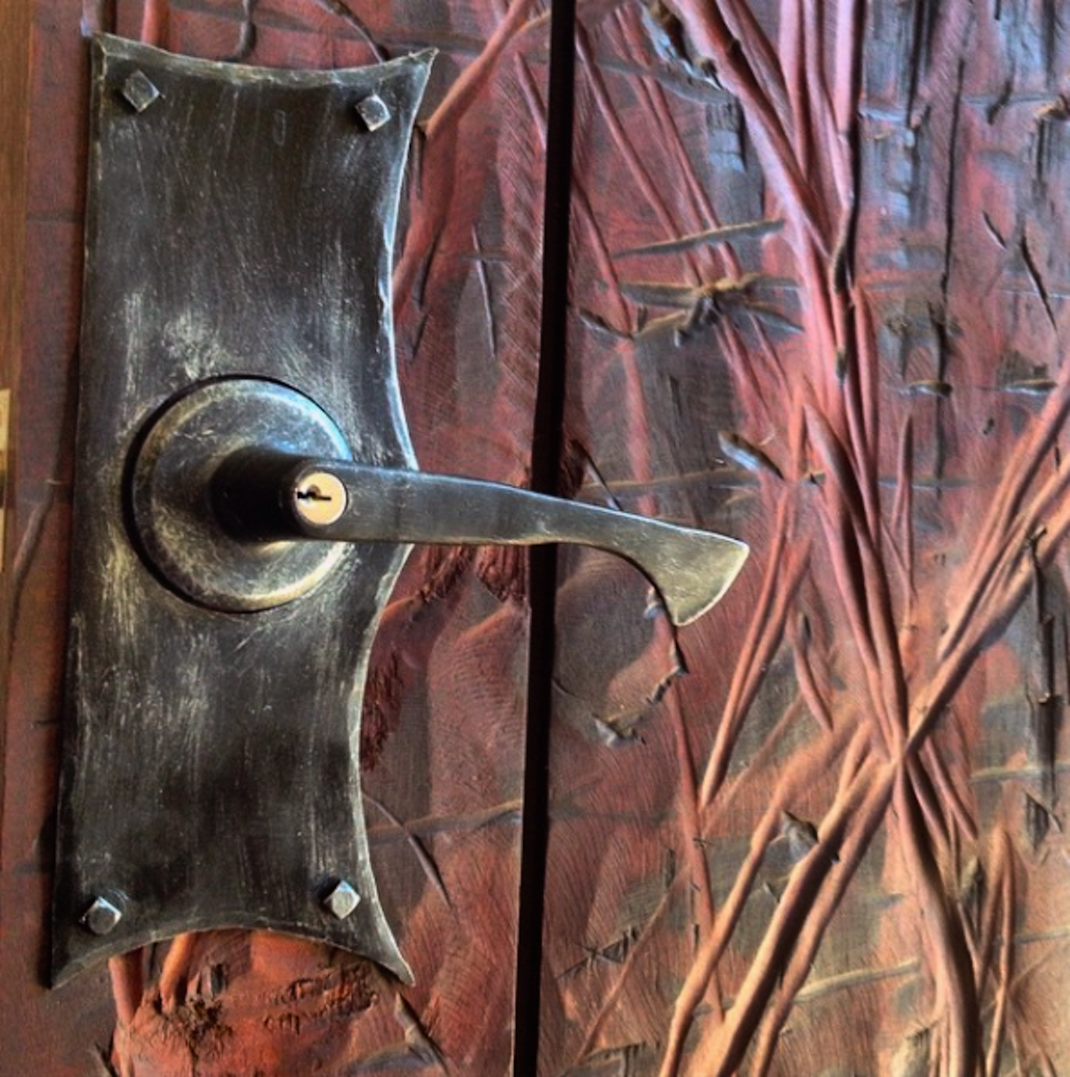 FORGED DOOR HARDWARE (lockplate)