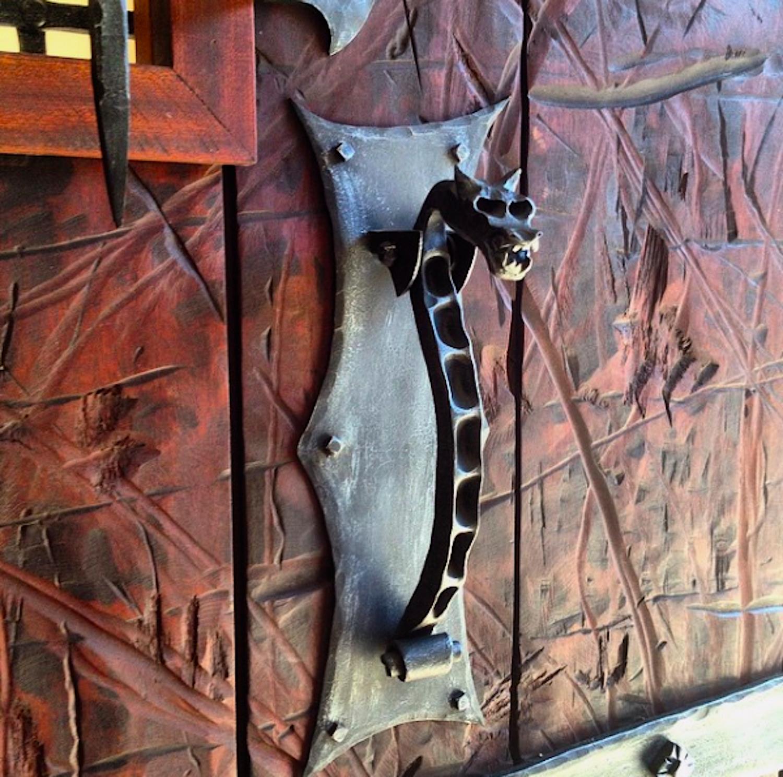 FORGED DOOR HARDWARE (knocker)