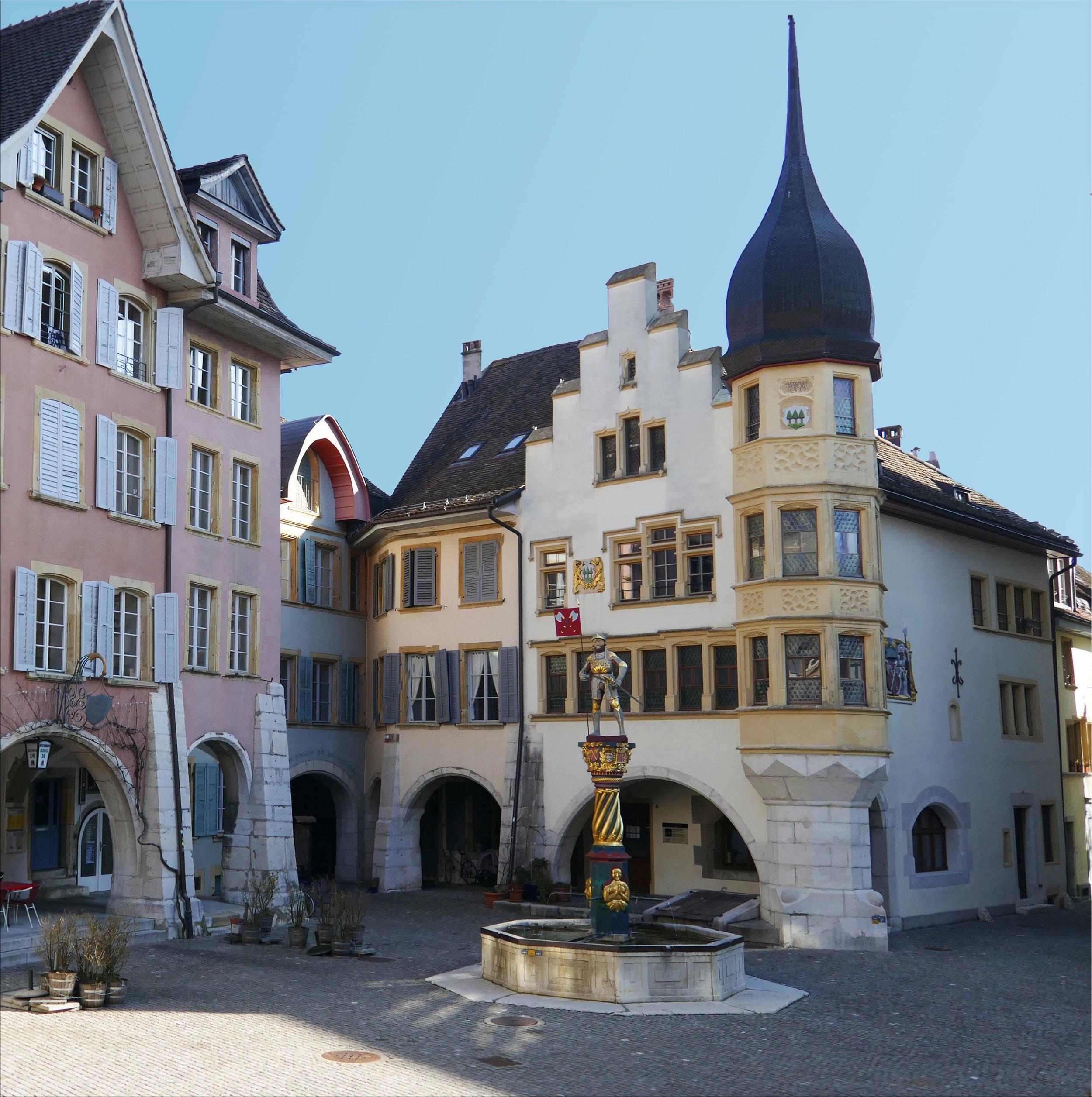 The town of Biel/Bienne, home of Kennsen.