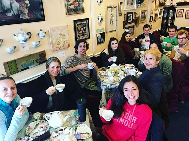 Tea Time at Semester Off  #afternoontea #tea #teatime #teambuilding #zen #yogainspiration #happiness #relaxingtime #semesteroff