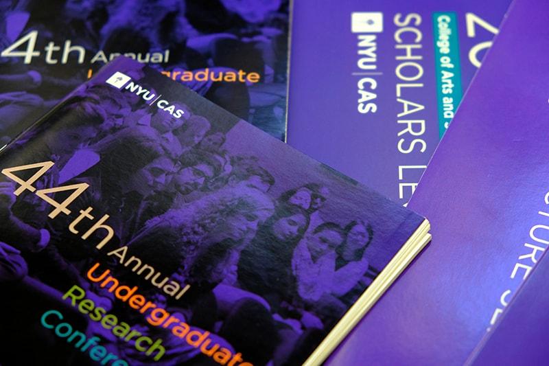 Unique Print NY - Digital Printing - NYU CAS Undergraduate Conference Booklets-min.jpg