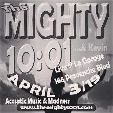 Getting our #acousticjams on THIS WEDNESDAY 8pm @legaragewpg for 2 sets of gold.  #legarage #manitobamusic #livemusic #themighty1001 #kevin