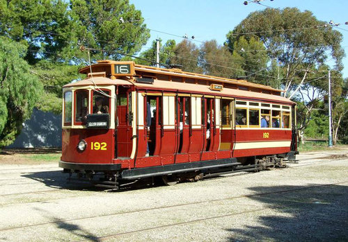 🔴 MTT 1912 D-Type Tram No. 92 - Out of service for body repairs