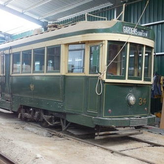 🔴 Ballarat Tram 37 (1917) - In long term storage
