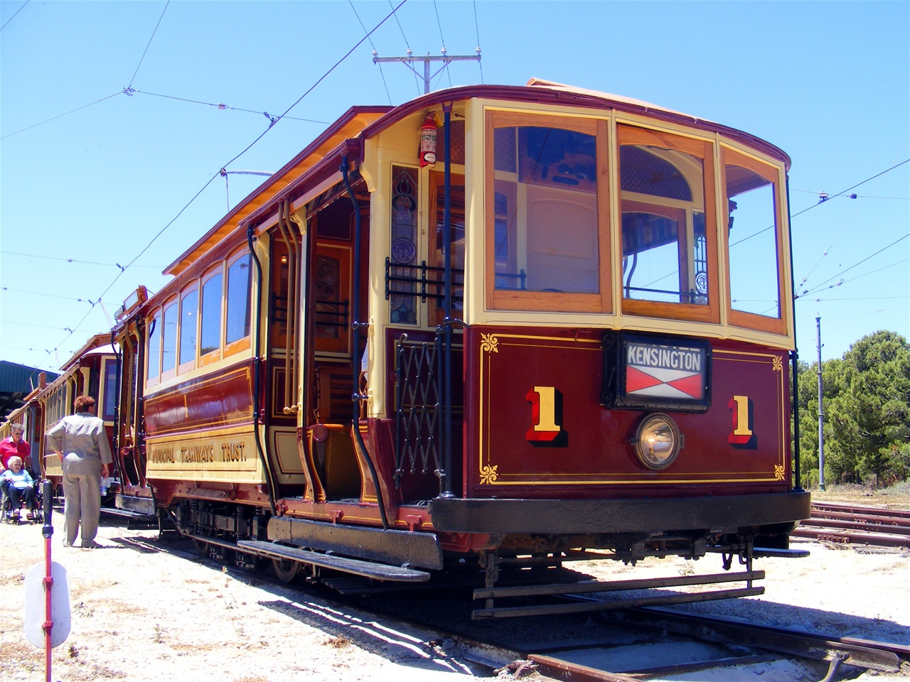🔶 A-Type Tram No. 1 - STATIC DISPLAY USED FOR SPECIAL EVENTS ONLY