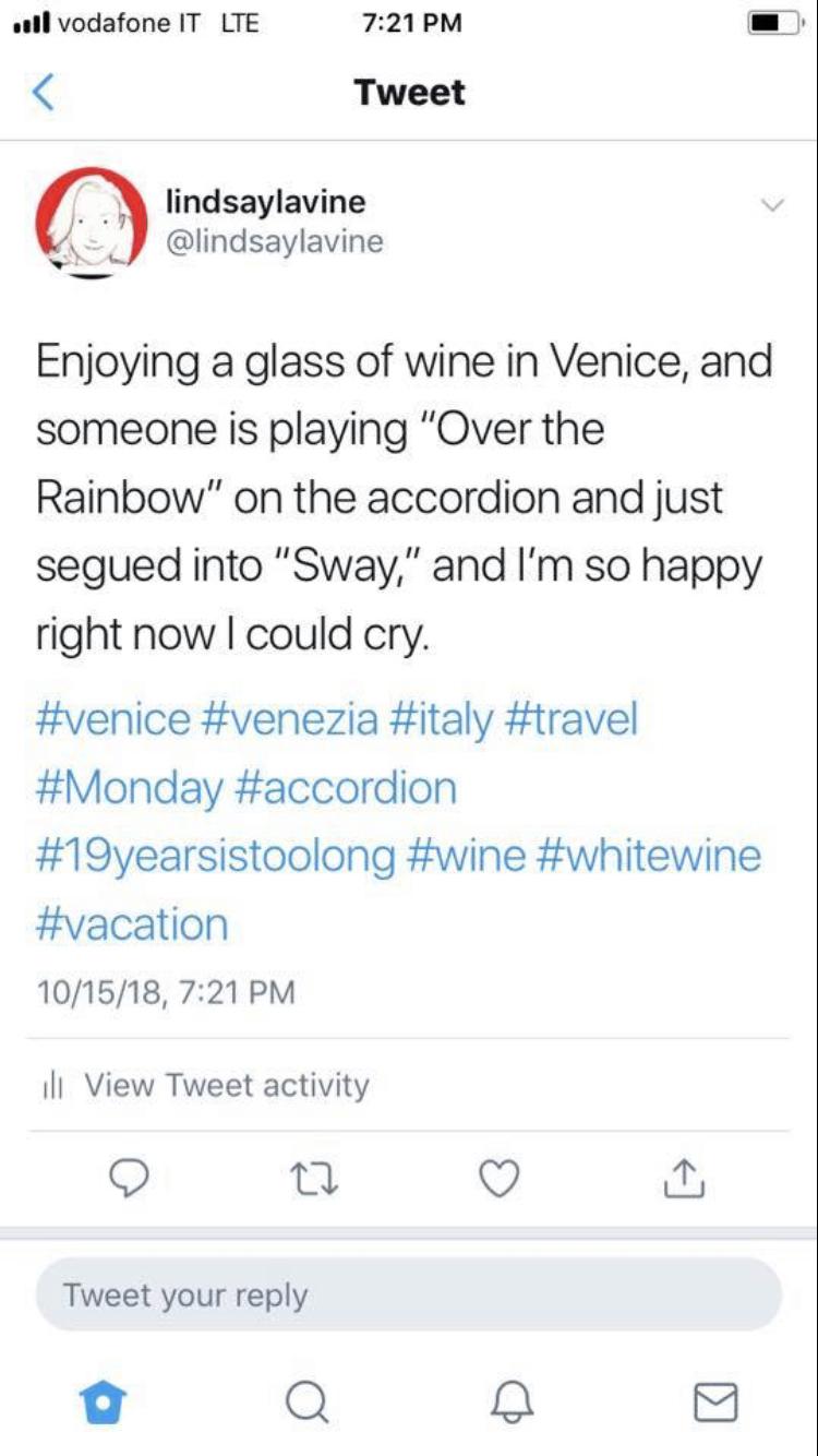 Venice wine happiness tweet.jpeg