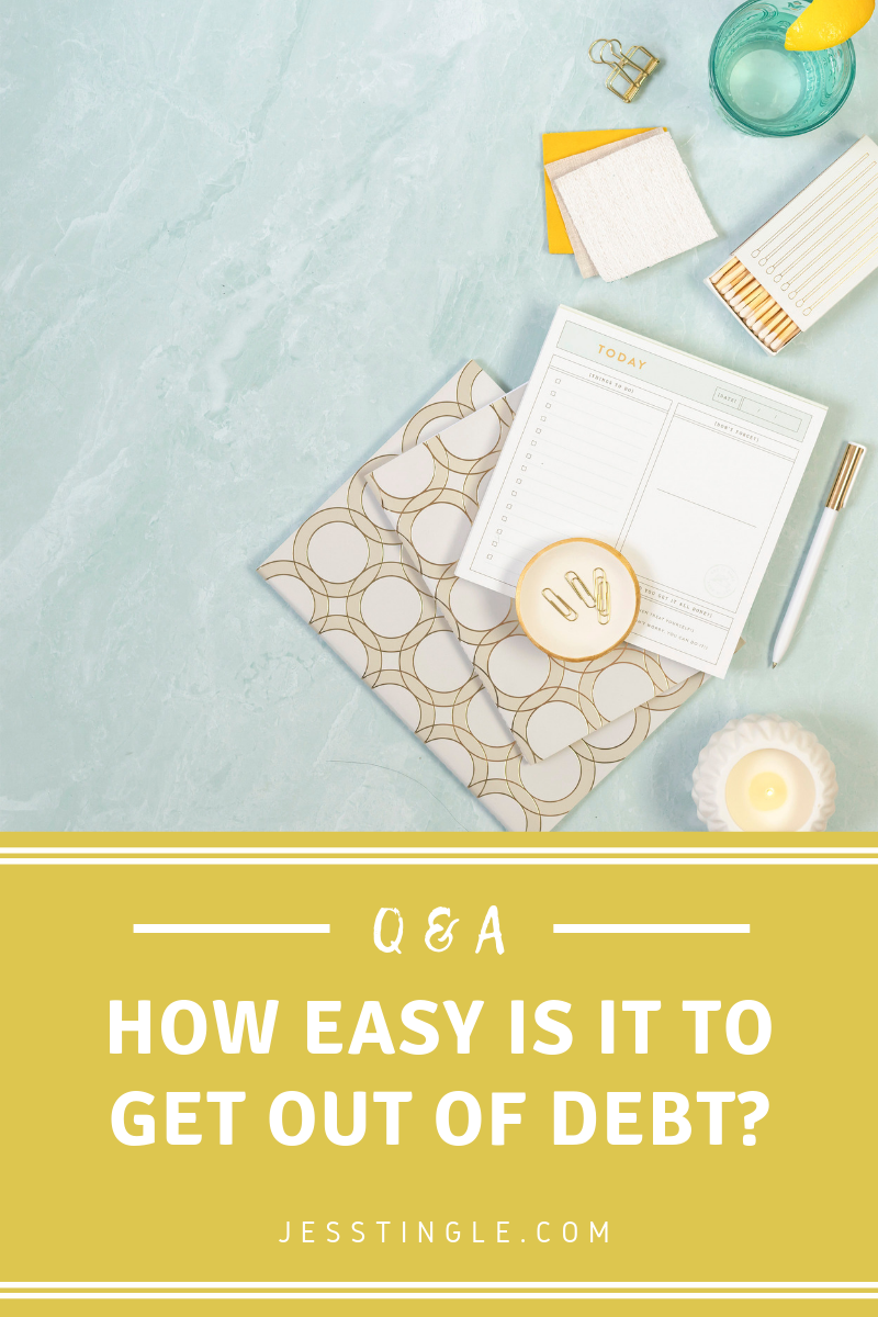 How Easy Is It To Get Out of Debt