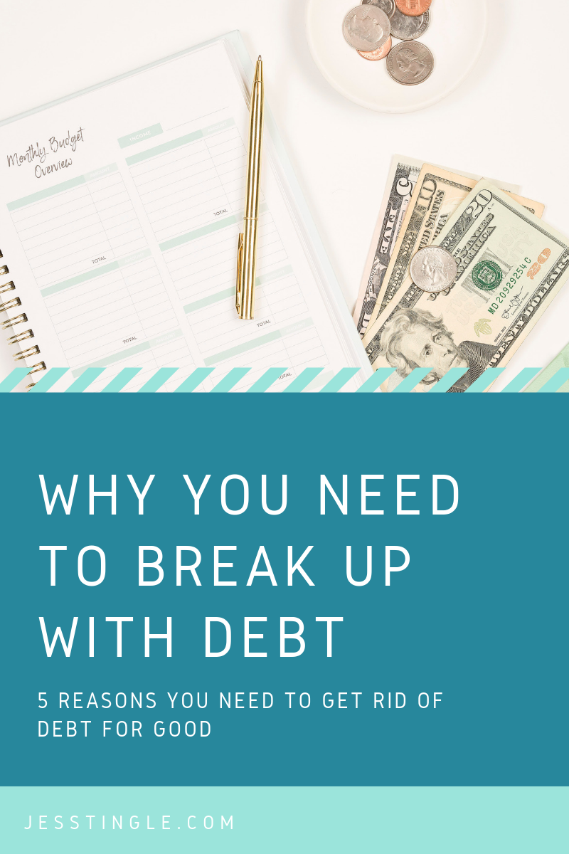 Why You Need to Break Up With Debt