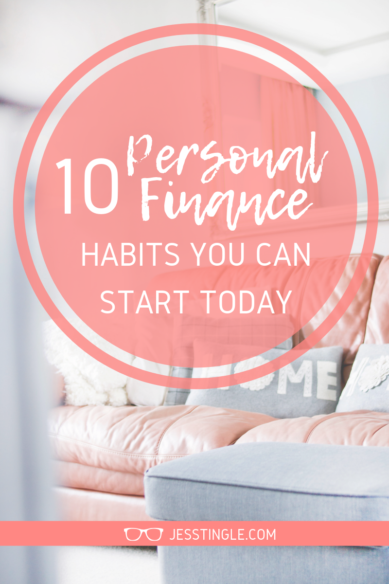 Personal Finance Habits You Can Start Today