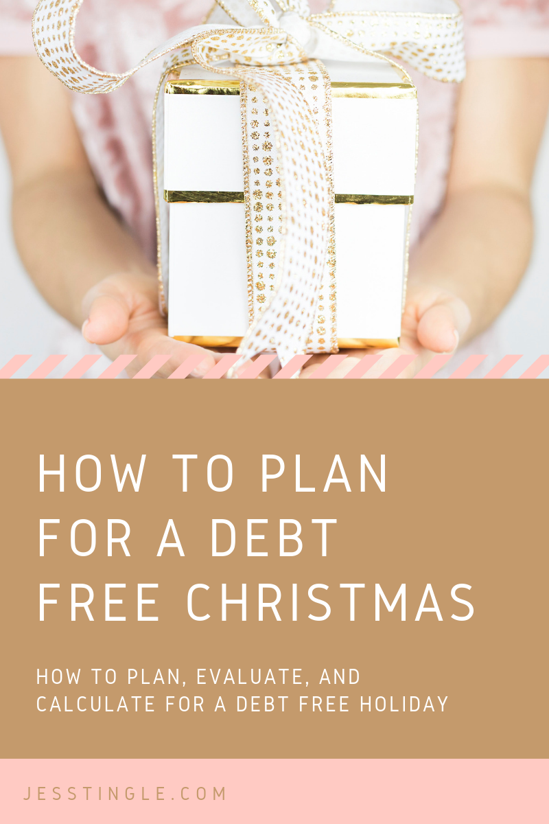 How to Plan for a Debt Free Christmas
