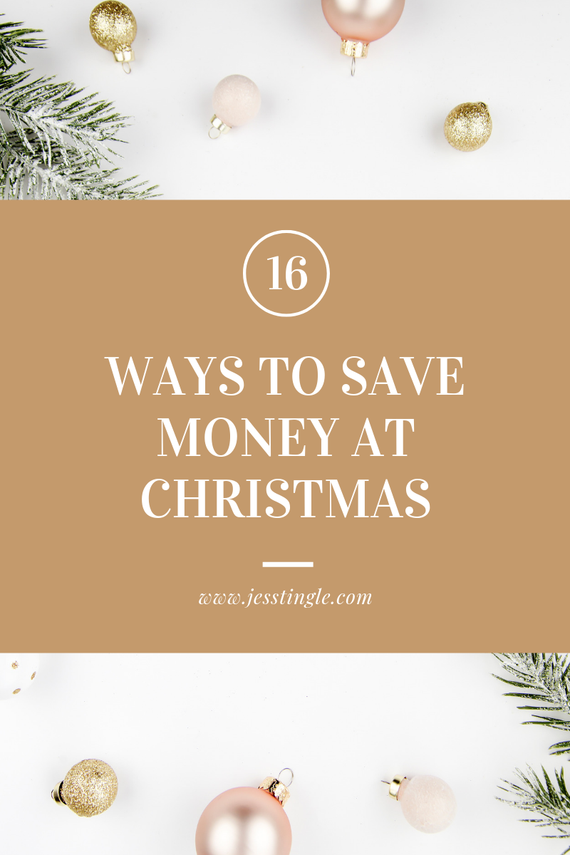 16 Ways to Save Money At Christmas