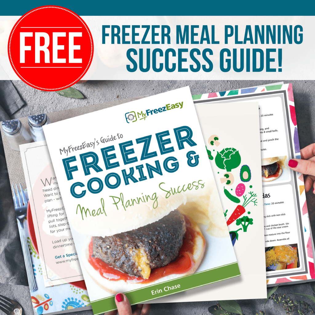 MyFreezEasy Freezer Meal Planning Success Guide