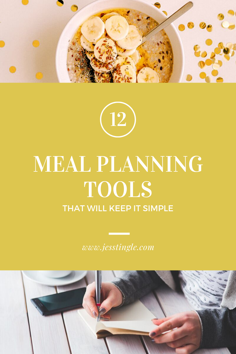 12 Meal Planning Tools That Will Keep It Simple