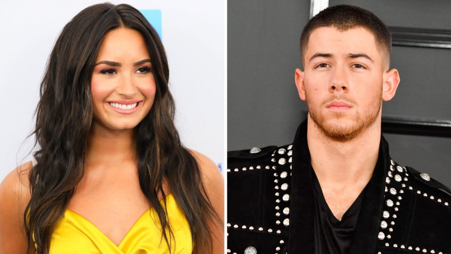 Left, JB Lacroix, right, Steve Granitz/WireImage, both Getty Images  Demi Lovato and Nick Jonas