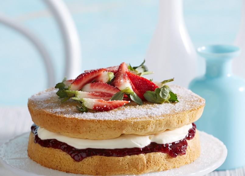 Classic Sponge Cake -