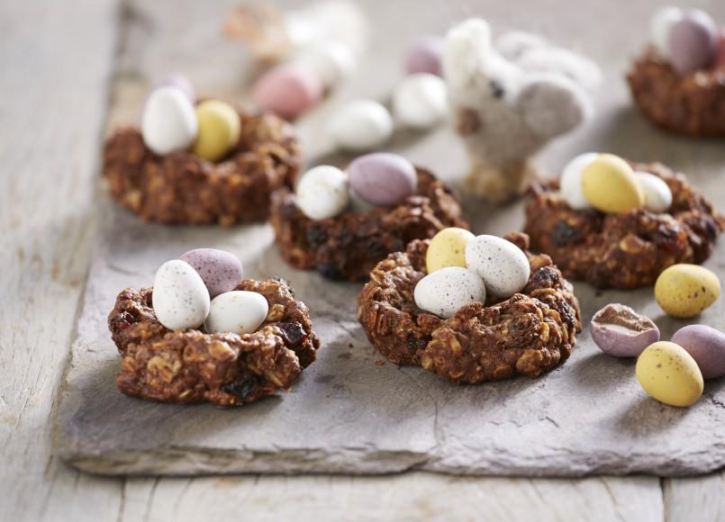 Birds Nest Cookies -