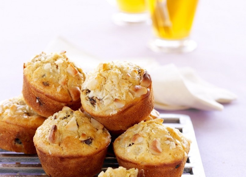 Date and Macadamia Muffins -