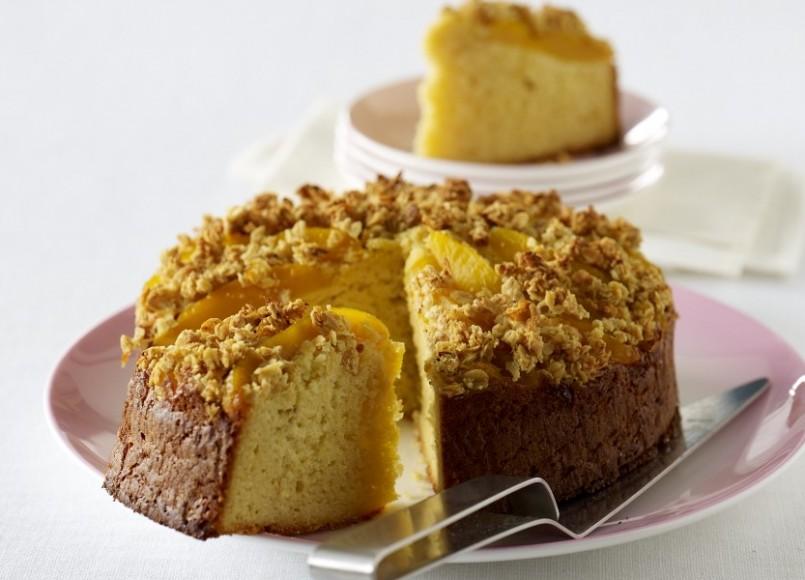 Mango and Almond Cake -