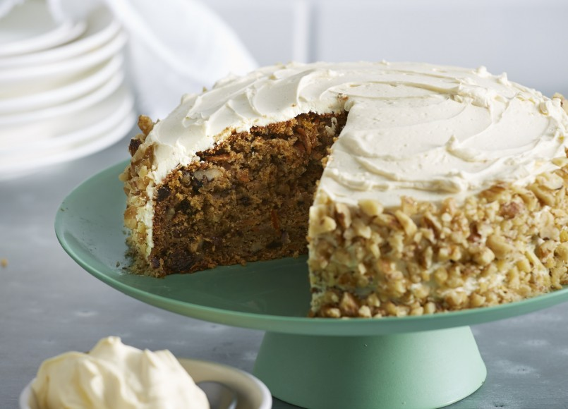 Carrot Cake with Cream Cheese Frosting -