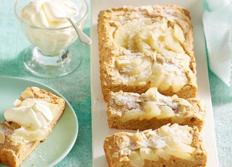 Pear &Almond Tart -