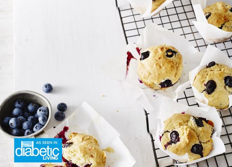 Blueberry & Ricotta Muffins -