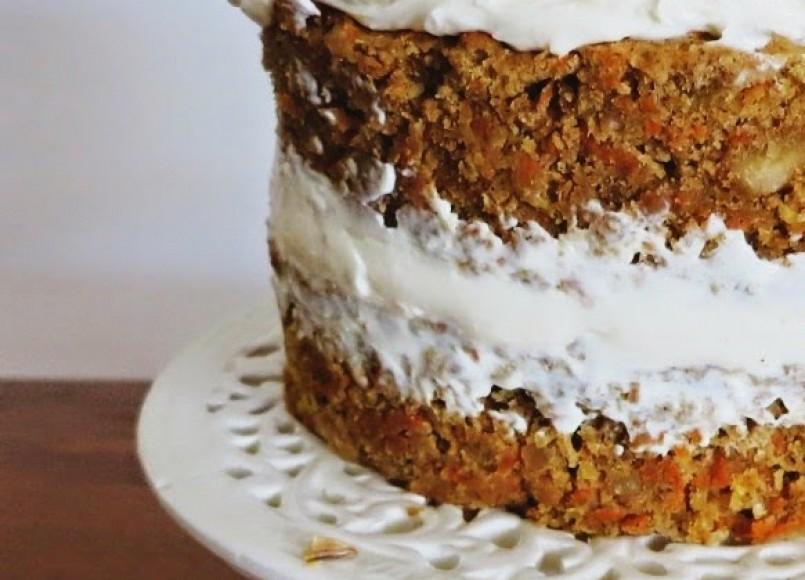 Gluten Free Low FODMAP Carrot Cake -