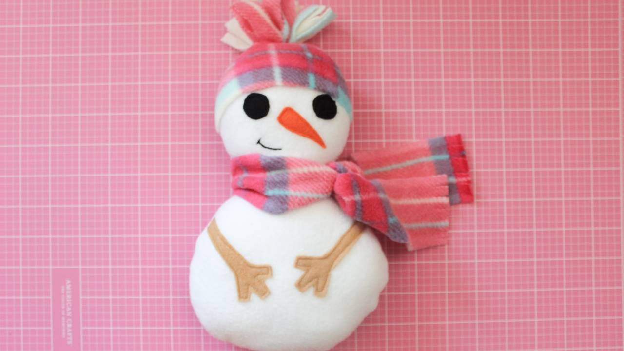 PROJECT: SNOWMAN SOFTIE