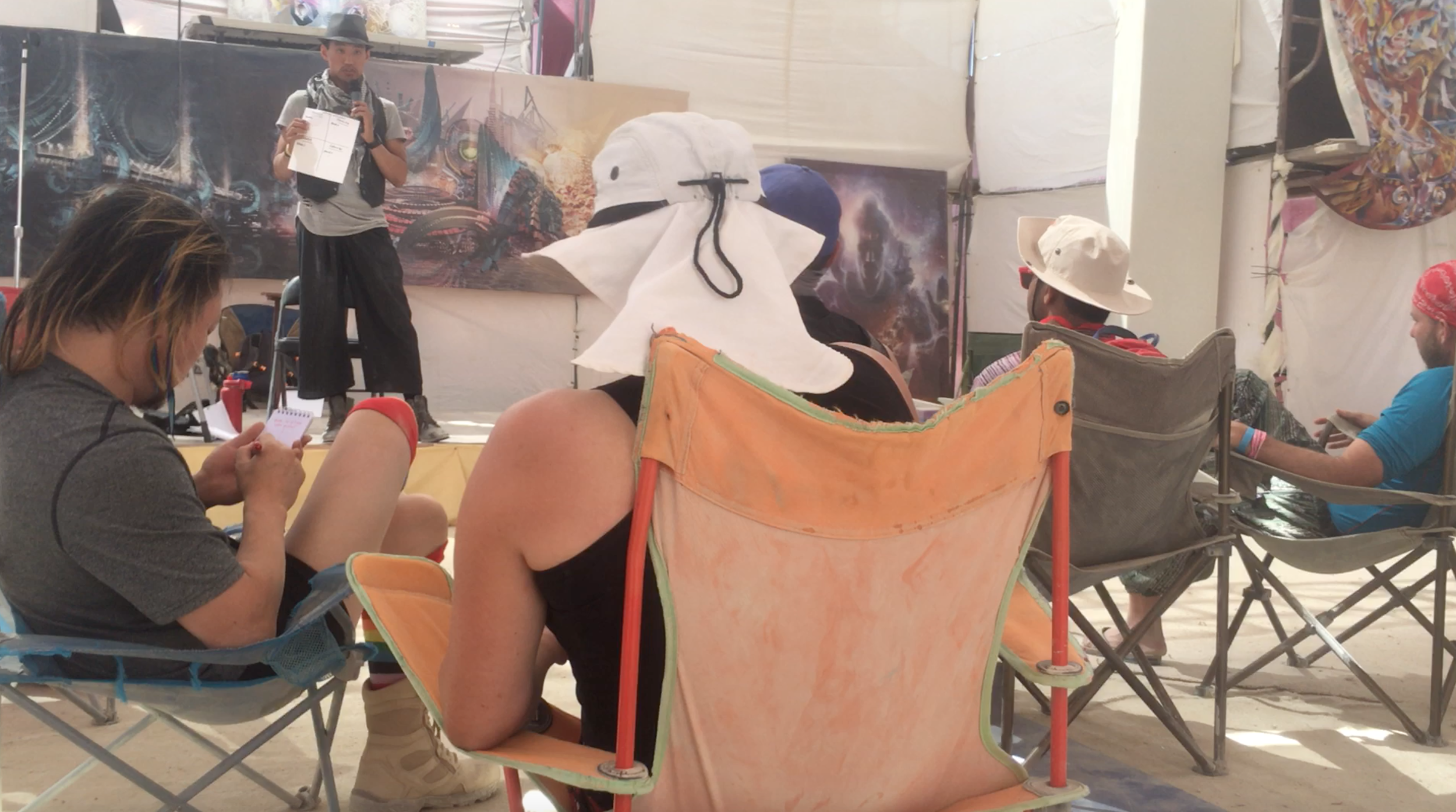 CK Speaking at Burning Man About High-Performance Culture
