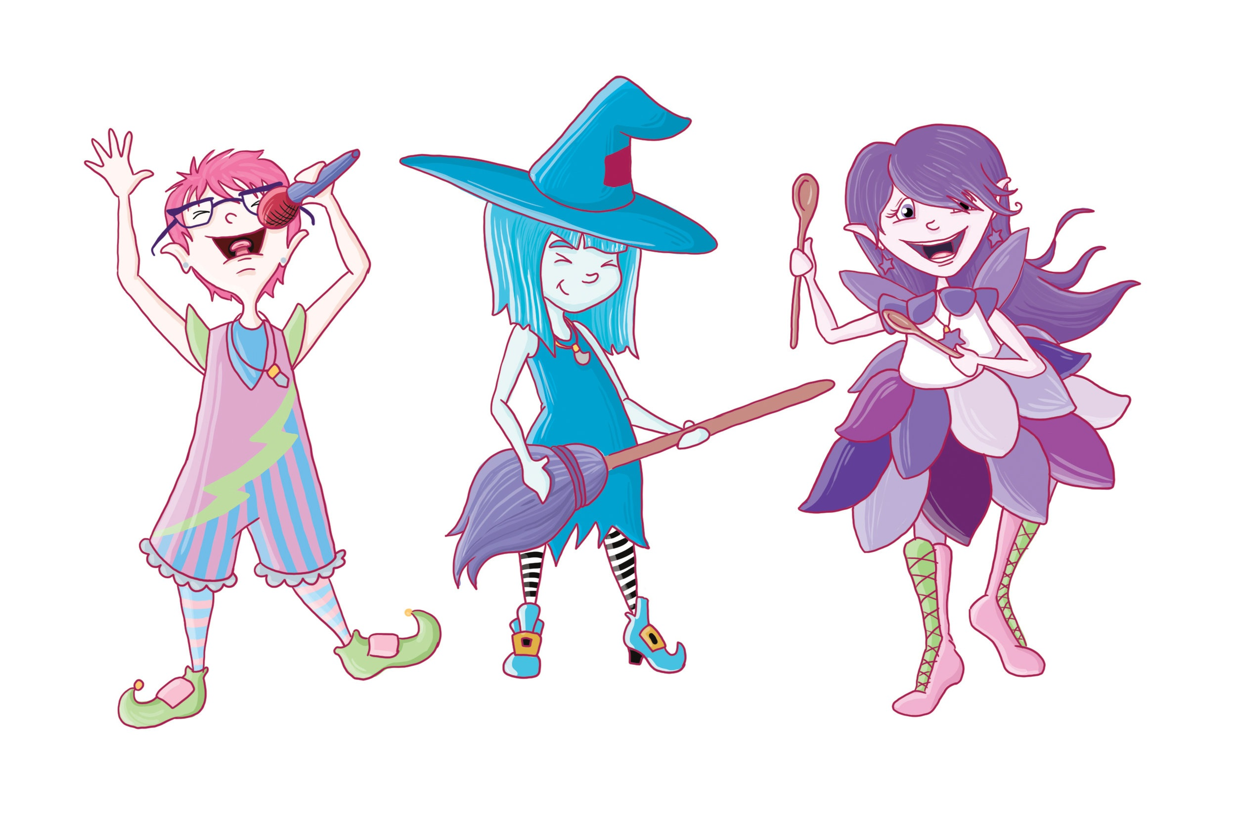 Meet three magical girls - who have the gift of music and want to share it with everyone in the town of Silencio.