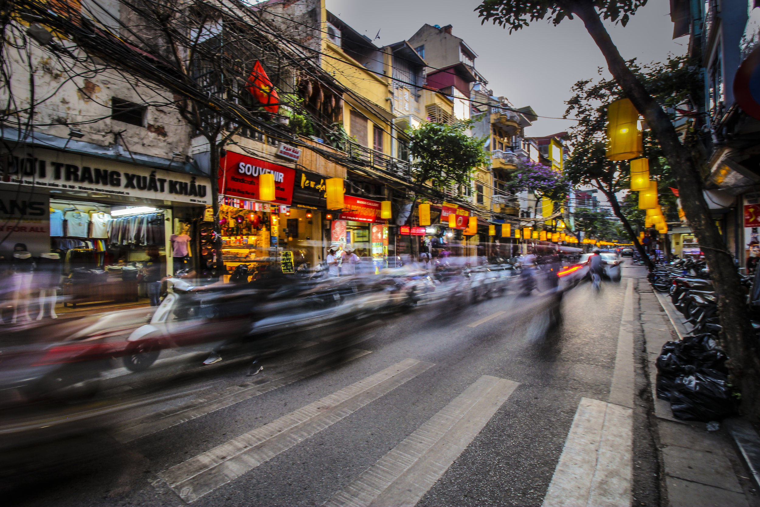 Vietnam's busy, colorful streets