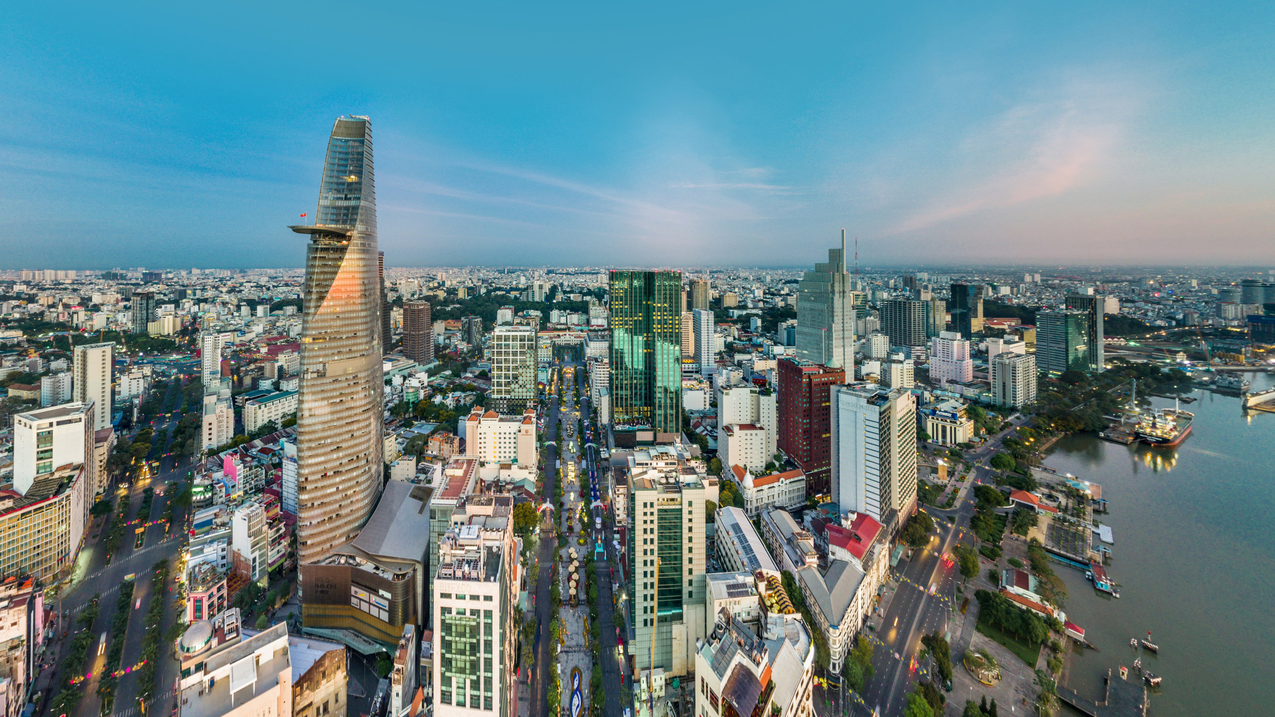 Saigon, one of South east Asia's fastest growing cities