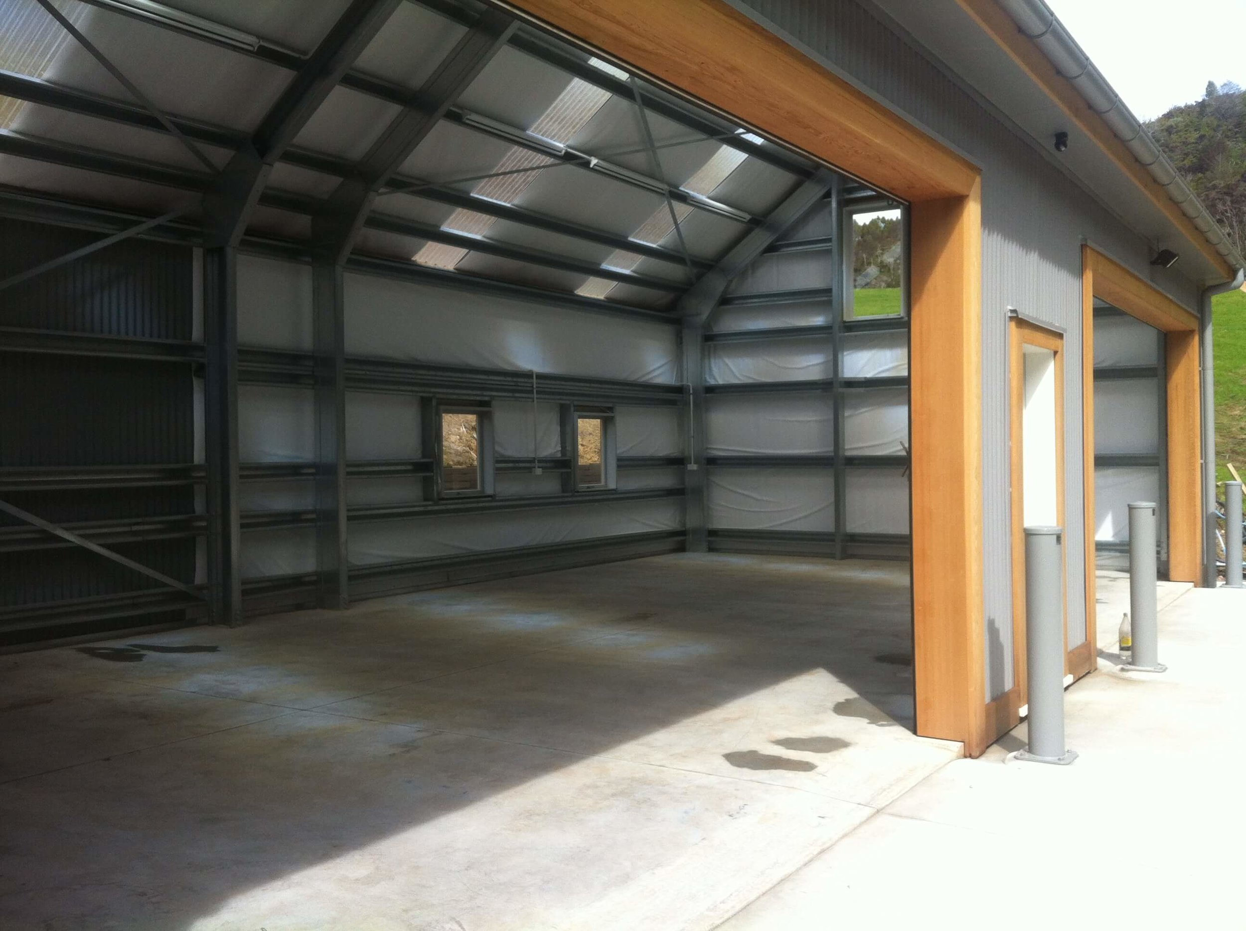 Lifestyle Dwellings - We roll form our own steel frames for the residential market, and supply steel frames to the internal fitout sector.