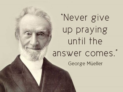 Our Inspiration - Our inspiration for this philosophy of provision and giving is two-fold: first, the extraordinary example of the life of German pastor, evangelist and philanthropist George Müeller, and second, our favorite Scripture passage on cheerful giving and abundant provision.