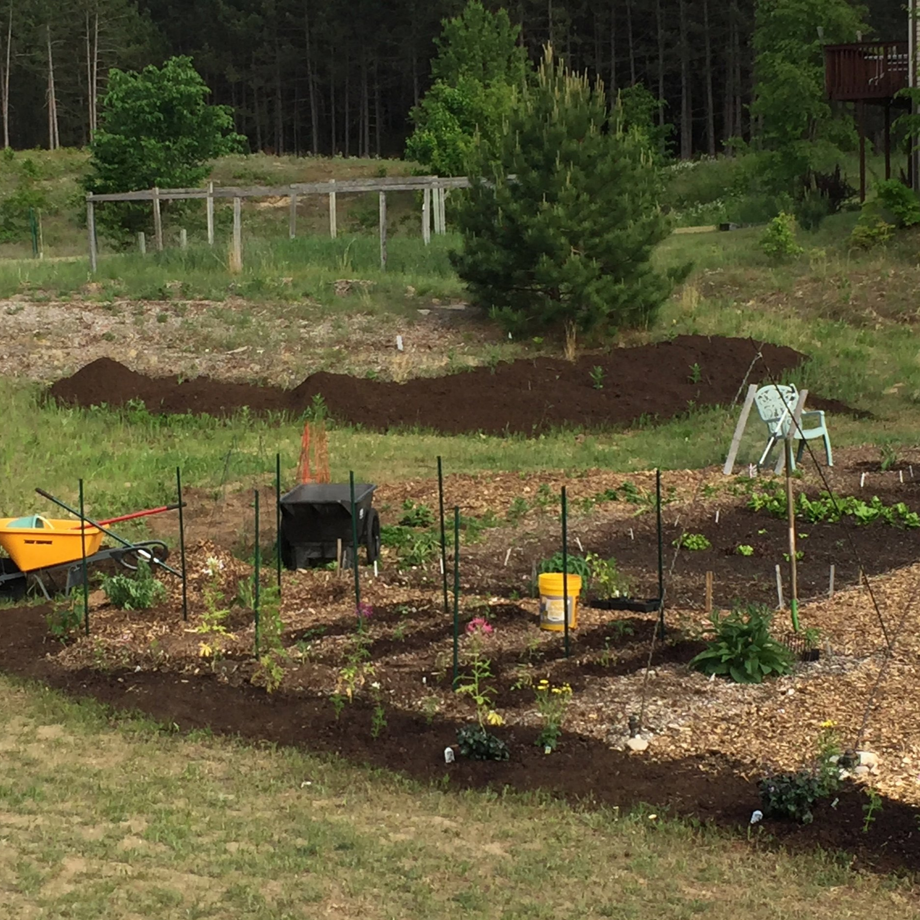 Planting and Tending the Gardens - Help us plant and tend our vegetable and flower gardens!