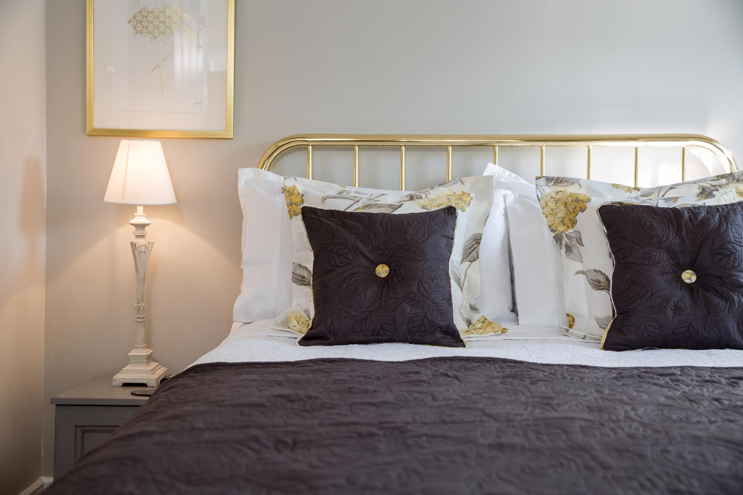 Quality furnishings and linens