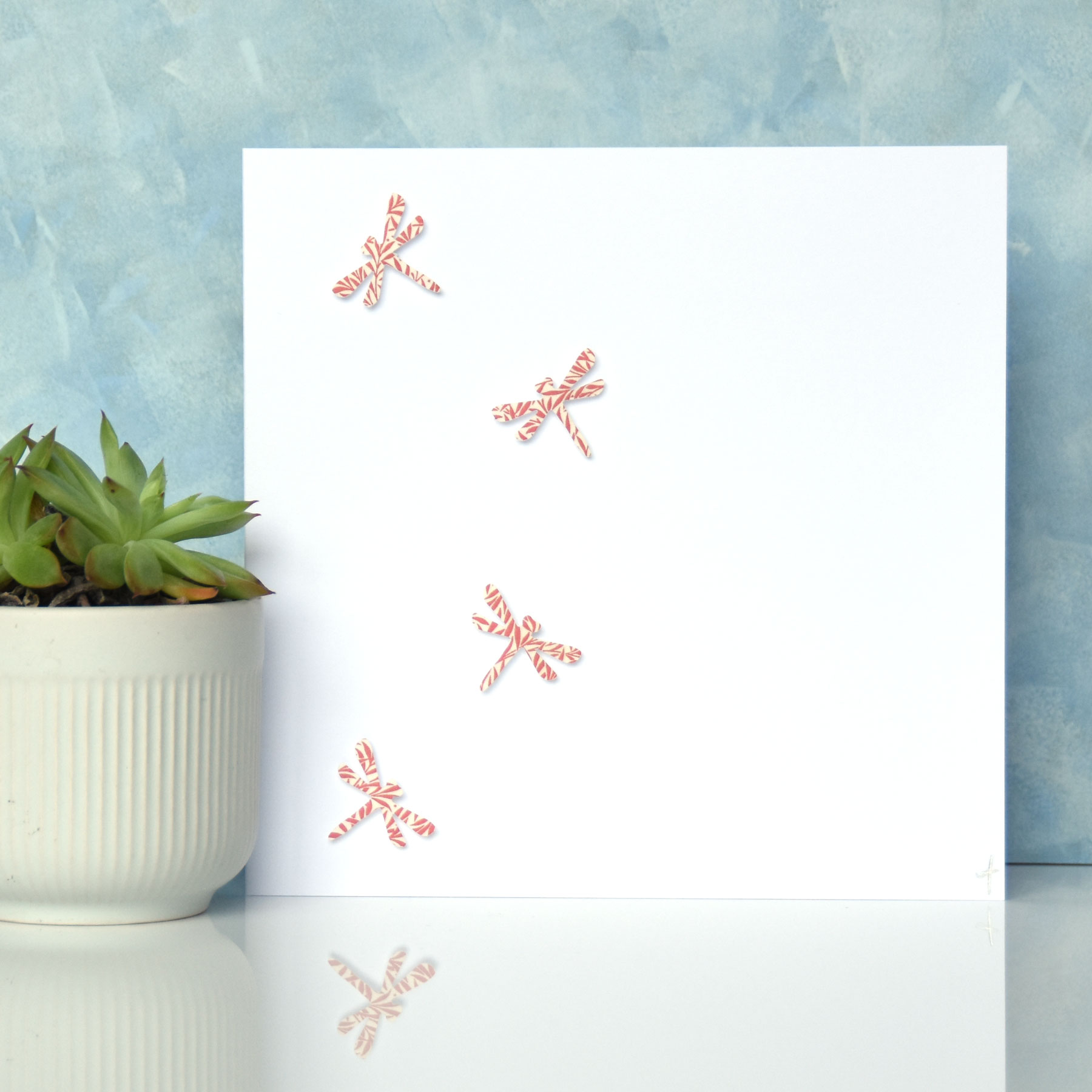 - Handmade using high quality cardstock, each card measure approx. 6