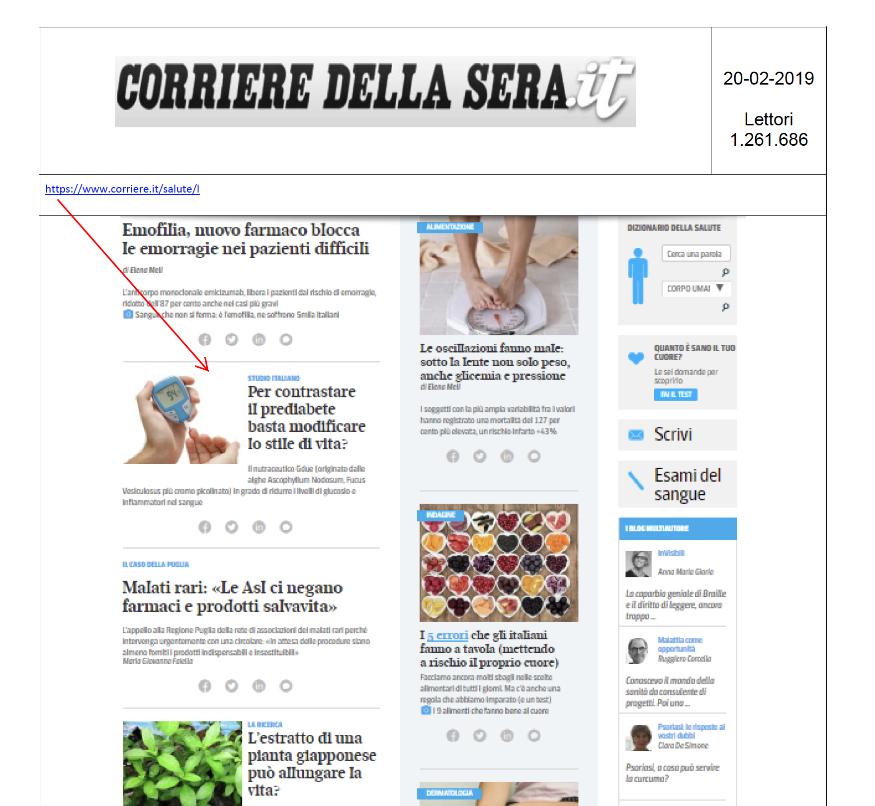 20.02.2019 - CORRIEREDELLASERA.IT