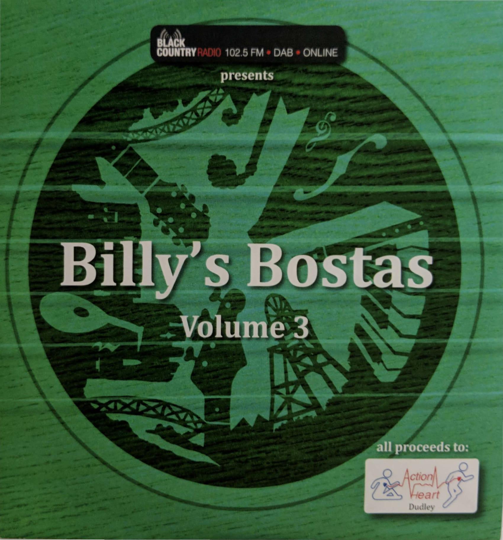 Billy's Bostas - Volume 3